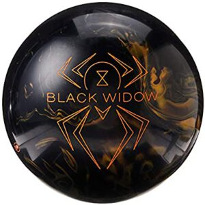 Hammer Black Widow Black-Gold Bowling Ball