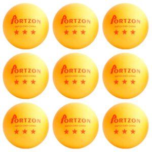 Portzon Orange Table Tennis Ball Review